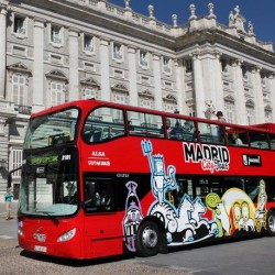 Madrid city tour official hop on hop off