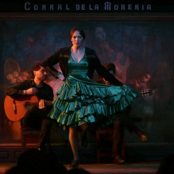 "Flamenco and dinner at ""Corral de la Morería"""