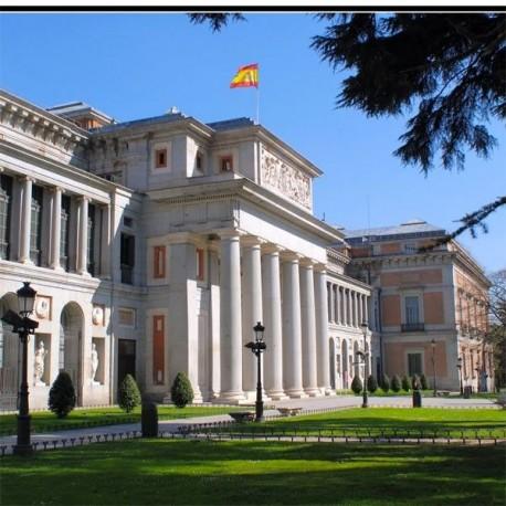 Panorámica de Madrid y Museo del Prado